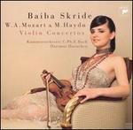 W.A. Mozart & M. Haydn: Violin Concertos