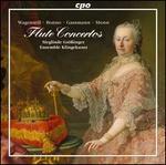 Wagenseil, Bonno, Gassmann, Monn: Flute Concertos