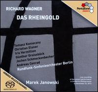 Wagner: Das Rheingold - Andreas Conrad (tenor); Antonio Yang (baritone); Christian Elsner (tenor); Günther Groissböck (bass);...