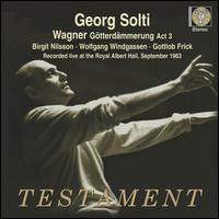 Wagner: Götterdämmerung Act 3 - Barbara Holt (vocals); Birgit Nilsson (vocals); Gottlob Frick (vocals); Gwyneth Jones (vocals); Marie Collier (vocals);...