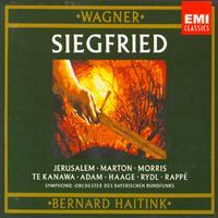 Wagner: Siegfried - Eva Marton (vocals); Jadwiga Rappe (vocals); James Morris (vocals); Kiri Te Kanawa (soprano); Kurt Rydl (vocals); Peter Haage (vocals); Siegfried Jerusalem (vocals); Theo Adam (vocals); Bavarian Radio Symphony Orchestra; Bernard Haitink (conductor)