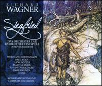 Wagner: Siegfried - Gustav Neidlinger (baritone); Hans Hotter (baritone); Josef Greindl (bass); Marhta Mödl (soprano); Maria von Ilosvay (alto);...