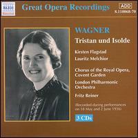 Wagner: Tristan und Isolde - Emanuel List (bass); Frank Sale (tenor); Herbert Janssen (baritone); Kirsten Flagstad (soprano); Lauritz Melchior (tenor);...