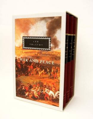 War and Peace: 3-Volume Boxed Set - Tolstoy, Leo, and Maude, Louise (Translated by), and Maude, Alymer (Translated by)