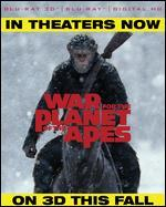 War for the Planet of the Apes [3D] [Includes Digital Copy] [Blu-ray]