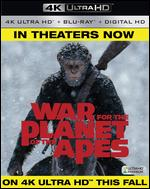 War for the Planet of the Apes [Includes Digital Copy] [4K Ultra HD Blu-ray/Blu-ray] - Matt Reeves