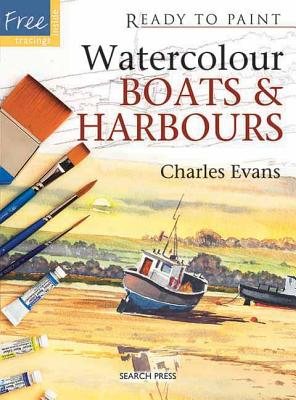 Watercolour Boats and Harbours - Evans, Charles