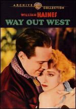 Way Out West - Fred Niblo
