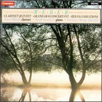 Weber: Clarinet Quintet; Grand Duo; Silvana Variations - Bernard Gregor-Smith (cello); Janet Hilton (clarinet); Keith Swallow (piano); Peter Cropper (violin); Roger Bigley (viola);...