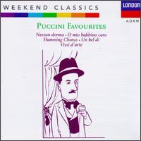Weekend Classics: Puccini Favourites - Bruno Prevedi (vocals); Carlo Bergonzi (vocals); Cesare Siepi (vocals); Ettore Bastianini (baritone);...