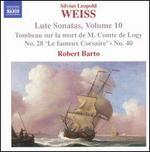 Weiss: Lute Sonatas, Vol. 10