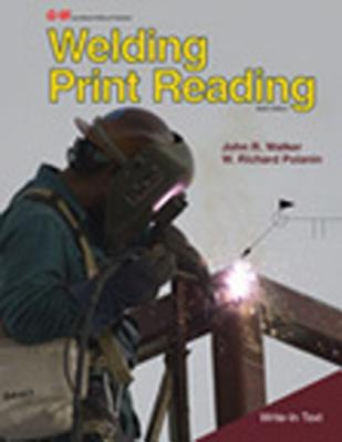 Welding print reading book by john r walker 7 available editions welding print reading walker john r and polanin w richard malvernweather Images
