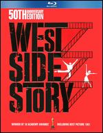 West Side Story [50th Anniversary Edition] [4 Discs] [With Book] [Blu-ray/DVD/CD] - Jerome Robbins; Robert Wise