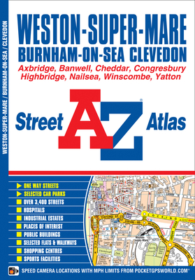 Weston Super Mare Street Atlas - Geographers A-Z Map Co. Ltd.