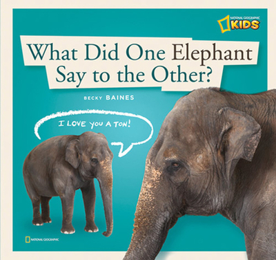 What Did One Elephant Say to the Other?: A Book about Communication - Baines, Becky