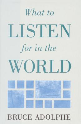 What to Listen for in the World - Adolphe, Bruce