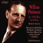 William Primrose 1947 RCA Recordings