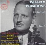 William Primrose Collection, Vol. 3