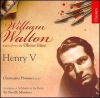 William Walton: Henry V - Celia Nicklin (oboe); Christopher Plummer (speech/speaker/speaking part); Ian Watson (harpsichord);...
