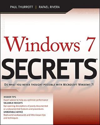 Windows 7 Secrets - Thurrott, Paul