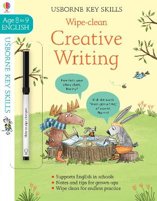 Wipe-Clean Creative Writing 8-9 - Young, Caroline