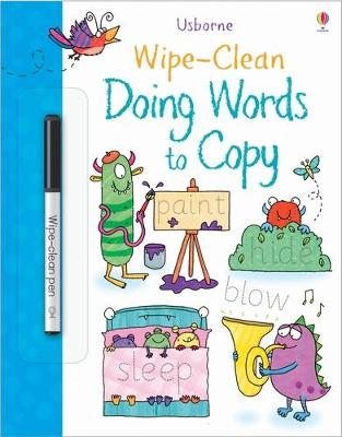 Wipe-clean Doing Words to Copy - Watson, Hannah