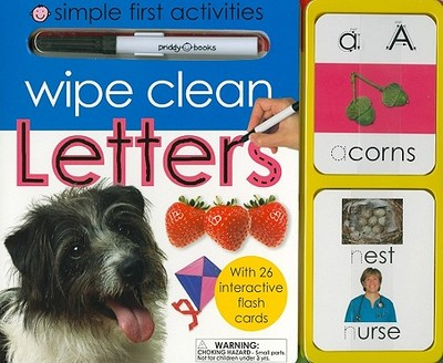 Wipe Clean Letters: Simple First Activities - Priddy, Roger