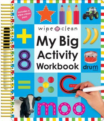 Wipe Clean: My Big Activity Workbook - Priddy, Roger