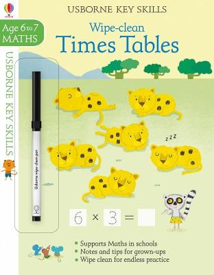 Wipe-Clean Times Tables 6-7 - Bathie, Holly