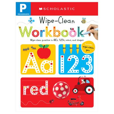 Wipe Clean Workbook: Pre-K (Scholastic Early Learners) - Scholastic, and Scholastic Early Learners