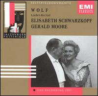 Wolf: Lieder-Recital - Elisabeth Schwarzkopf (soprano); Gerald Moore (piano)