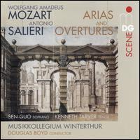 Wolfgang Amadeus Mozart, Antonio Salieri: Arias and Overtures - Kenneth Tarver (tenor); Sen Guo (soprano); Musikkollegium Winterthur; Douglas Boyd (conductor)