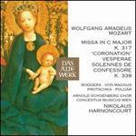 "Wolfgang Amadeus Mozart: Missa in C major, K. 317 ""Coronation""; Vesperae solennes de confessore, K. 339"
