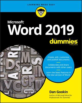Word 2019 for Dummies - Gookin, Dan