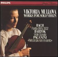 Works for Solo Violin by Bach, Bartòk & Paganini - Viktoria Mullova (violin)