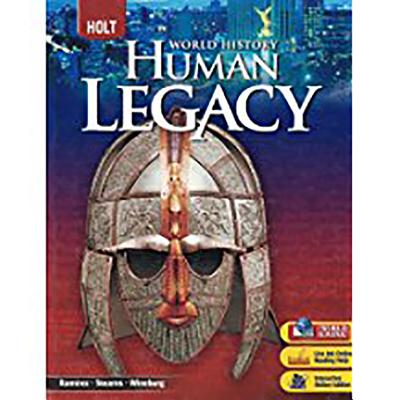 World History: Human Legacy: Student Edition 2008 - Holt Rinehart and Winston (Prepared for publication by)
