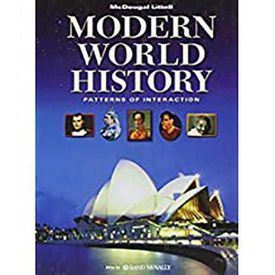 World History: Patterns of Interaction: Student Edition Modern World History 2009 - McDougal Littel (Prepared for publication by)