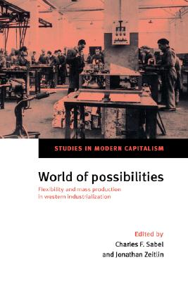 World of Possibilities - Sabel, Charles F (Editor)