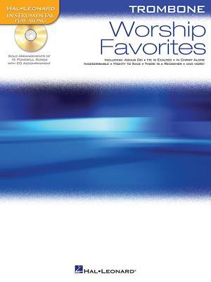 Worship Favorites: Instrumental Play-Along for Trombone - Hal Leonard Corp (Creator)
