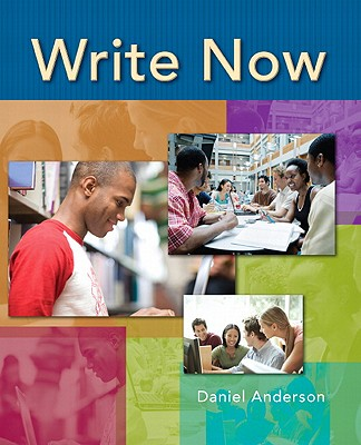 Write Now - Anderson, Daniel