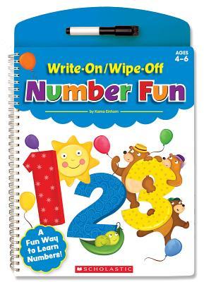 Write-On/Wipe-Off Number Fun - Kama, Einhorn, and Einhorn, Kama