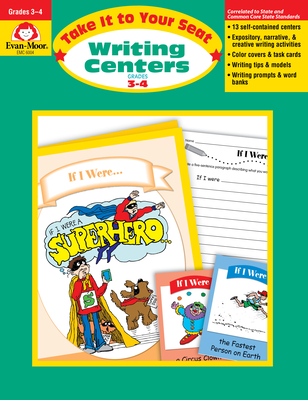 Writing Centers, Grades 3-4 - Evan-Moor Educational Publishers
