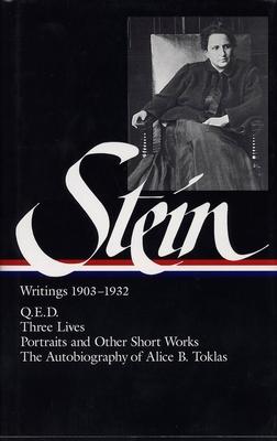 Writings 1903-1932 - Stein, Gertrude