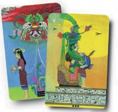 Xultun (Mayan Tarot Deck - Balin, Peter