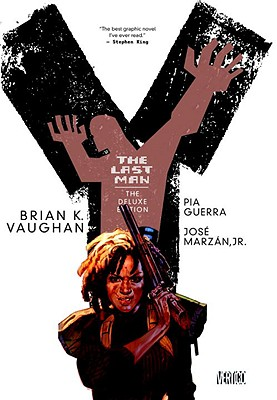 Y the Last Man, Book Two - Vaughan, Brian K, and Guerra, Pia (Illustrator), and Marzan, Jose, Jr. (Illustrator)