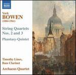 York Bowen: String Quartet Nos. 2 & 3; Phantasy-Quintett