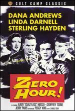 Zero Hour - Hall Bartlett