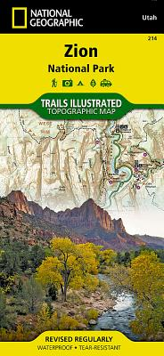 Zion National Park - National Geographic Maps (Compiled by)