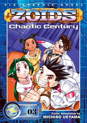 Zoids Chaotic Century, Vol. 3 -