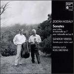 Zoltan Kodaly: Sonates